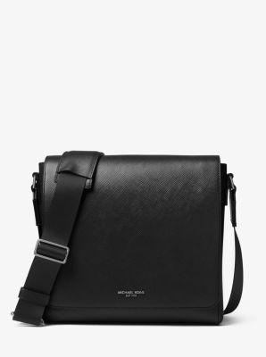 마이클 코어스 해리슨 미디움 메신저 백 Michael Kors Harrison Medium Leather Messenger Bag