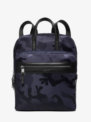 Kent Medium Camouflage Nylon Flight Bag  by Michael Kors