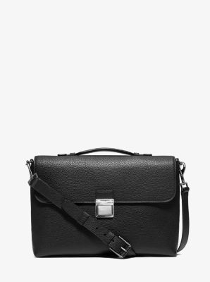 Bryant Leather Messenger Bag  by Michael Kors