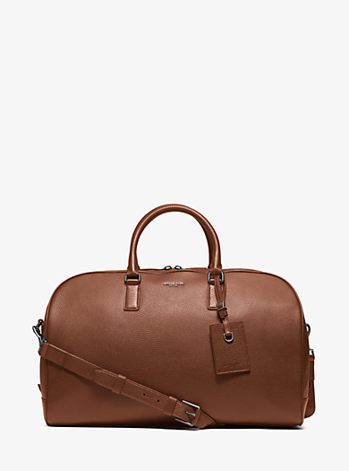 Bryant Large Leather Duffel Bag  by Michael Kors