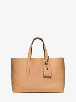 Mason Reversible Leather Tote  by Michael Kors
