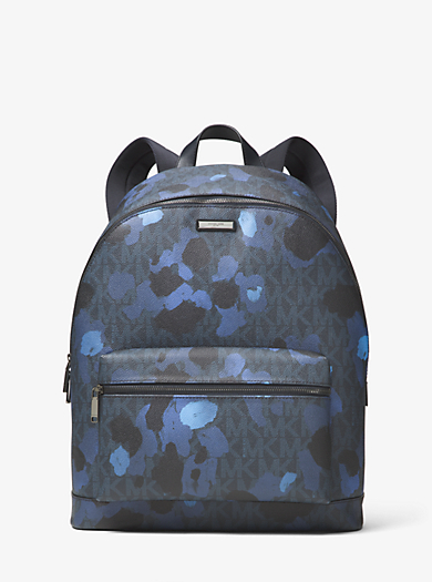 Jet Set Painterly Camo Backpack by Michael Kors