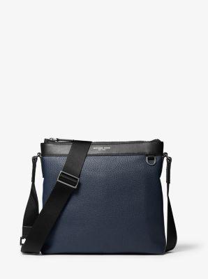 마이클 코어스 맨 메신저백 Michael Kors Greyson Pebbled Leather Messenger Bag
