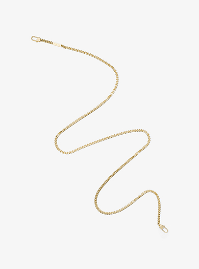 Gold-Tone Chain-Link Camera Strap by Michael Kors