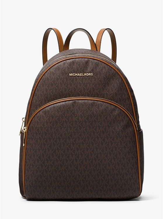Abbey Large Logo Backpack | Michael Kors