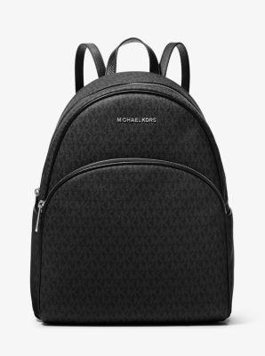 마이클 마이클 코어스 아비 라지 로고 백팩 블랙 Michael Michael Kors Abbey Large Logo Backpack,BLACK