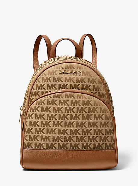 Abbey Medium Logo Jacquard Backpack