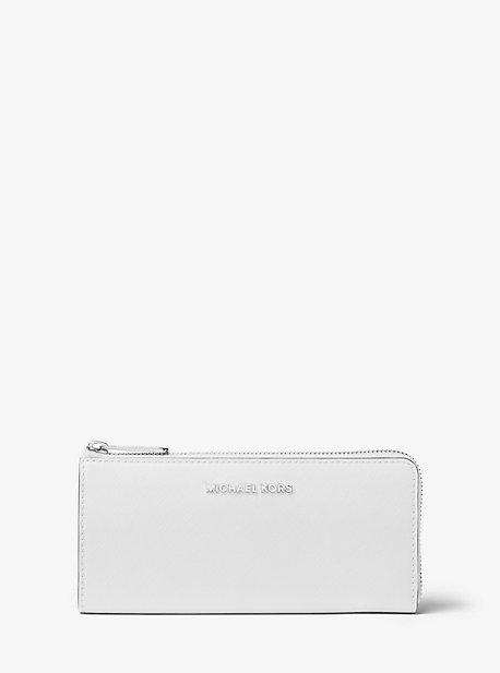 Jet Set Travel Leather Wallet
