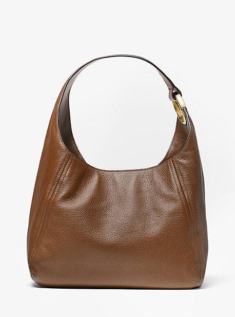 Fulton Large Pebbled Leather Shoulder Bag