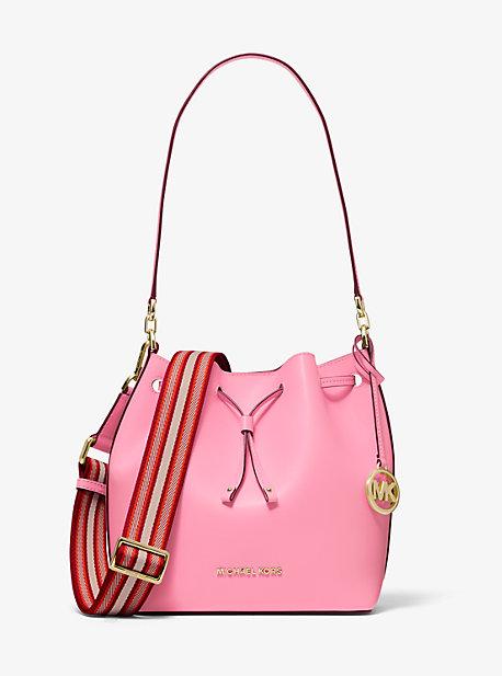 Eden Medium Leather Bucket Bag