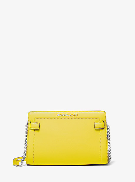 Rayne Small Saffiano Leather Crossbody Bag