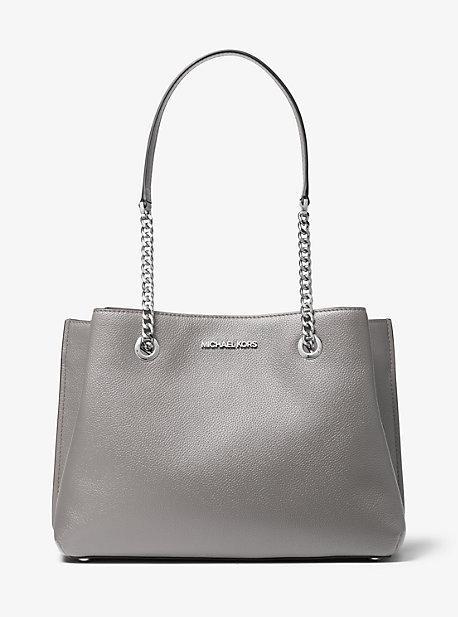 Teagan Large Pebbled Leather Shoulder Bag