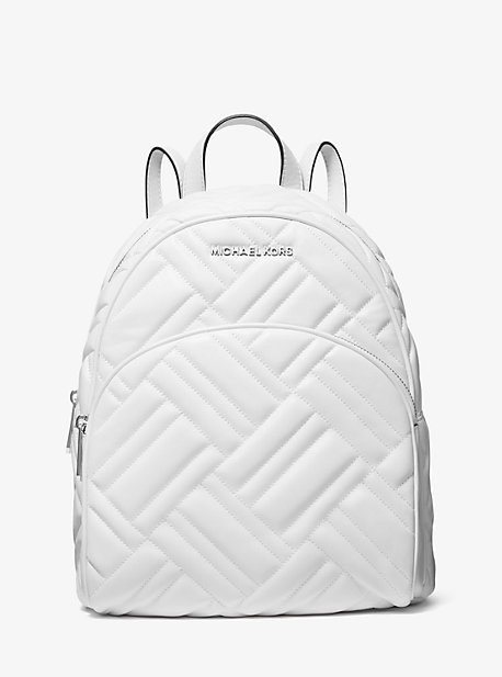 Abbey Medium Quilted Leather Backpack
