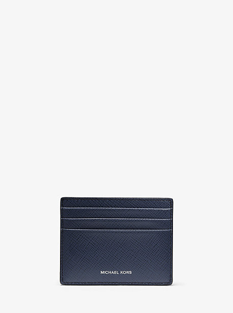 Crossgrain Leather Tall Card Case