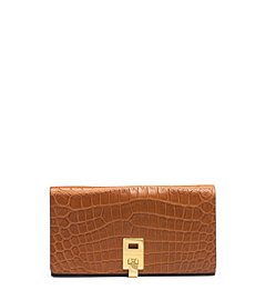Miranda Nile Crocodile Continental Wallet