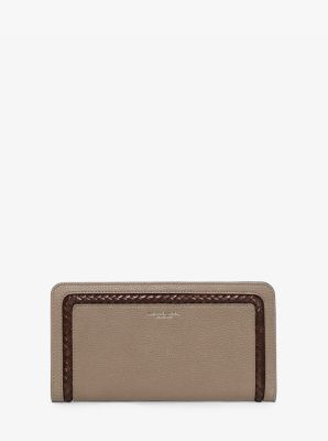Skorpios Leather Continental Wallet  by Michael Kors