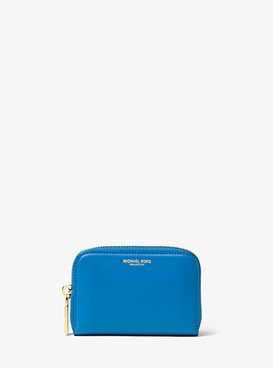 Miranda French Calf Leather Card Holder by Michael Kors