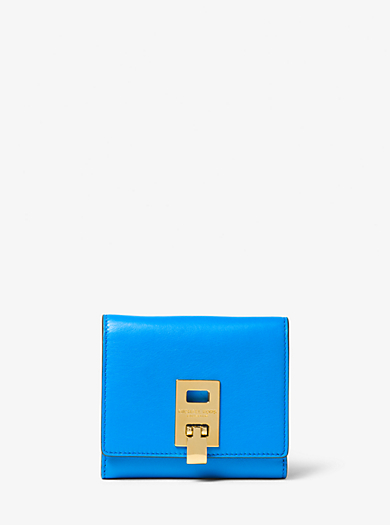 Miranda French Calf Leather Wallet by Michael Kors