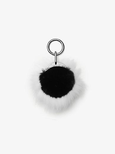 Mink Fur Charm by Michael Kors