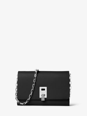 Miranda Leather Chain Crossbody by Michael Kors
