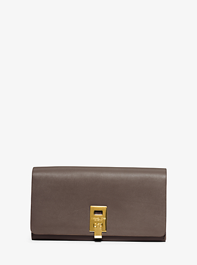 Miranda Continental Leather Wallet by Michael Kors