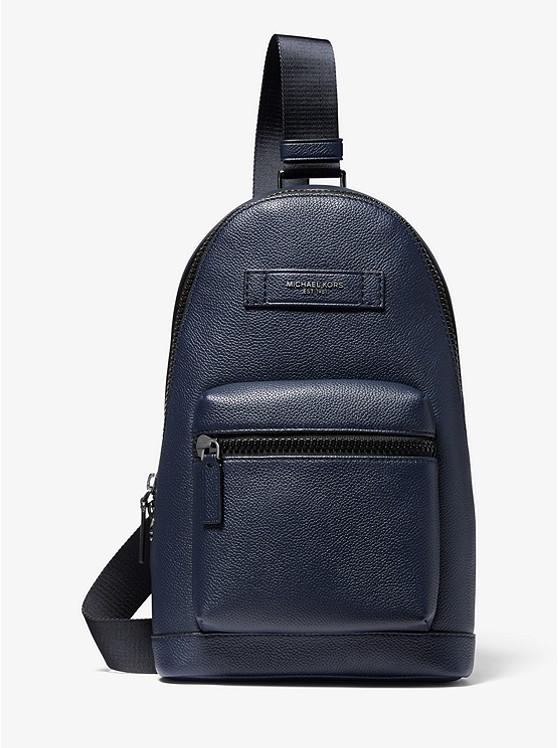 Cooper Pebbled Leather Sling Pack | Michael Kors