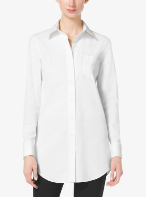 Button-Down Silk Blouse by Michael Kors