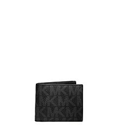 Jet Set Men's Logo Billfold Wallet