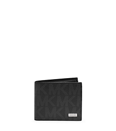 Jet Set Men's Leather Billfold