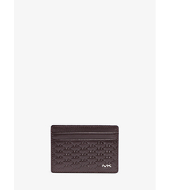 Jet Set Men's Logo-Embossed Card Case