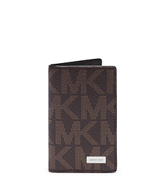 Jet Set Men's Logo ID Card Case