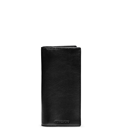 Jet Set Men's Leather Yen Wallet
