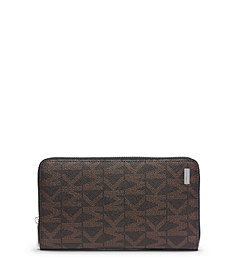 Jet Set Men's Logo Large Wallet