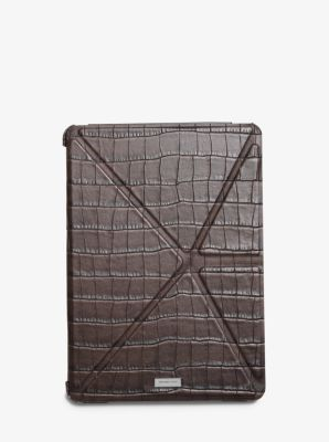 Embossed-Leather Tablet Cover by Michael Kors