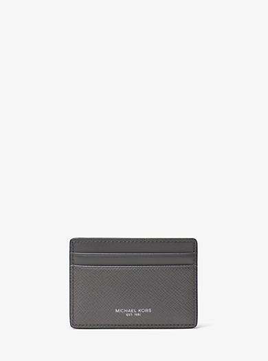 Kartenetui Harrison aus Leder by Michael Kors