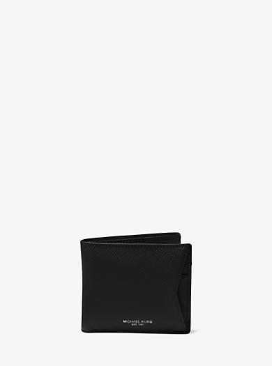 Harrison Leather Billfold Wallet      by Michael Kors