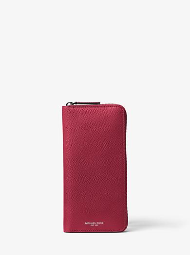 Brieftasche Harrison aus Leder mit Rundum-Reißverschluss by Michael Kors
