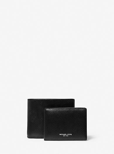 Brieftasche Harrison aus Leder mit Ausweisfach by Michael Kors