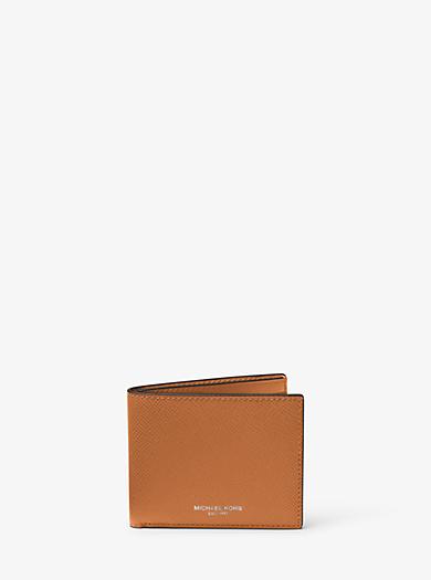 Schmale Brieftasche Harrison aus Leder by Michael Kors