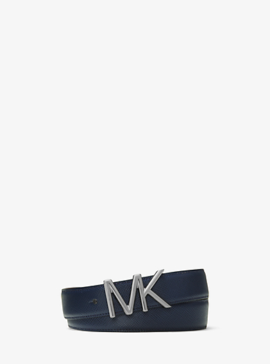 Cintura con logo in pelle by Michael Kors