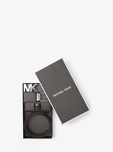 Confezione con cintura quattro-in-uno con logo by Michael Kors
