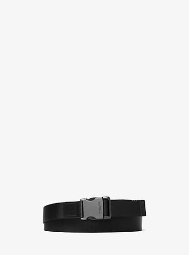 Nylon Webbed Belt by Michael Kors