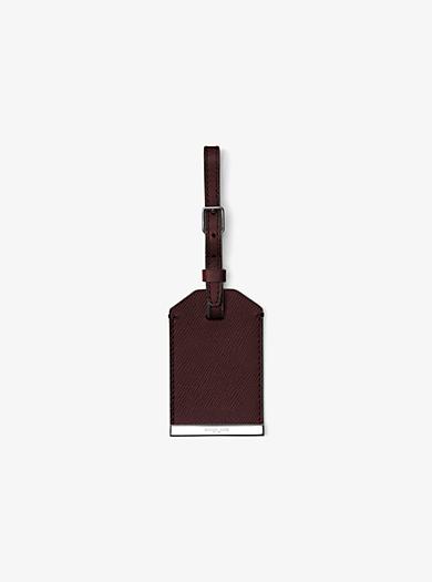 Targhetta per valigie Kamden in pelle by Michael Kors