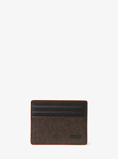 Porta carte di credito Jet Set con logo by Michael Kors