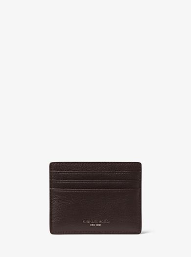 Porta carte di credito Bryant in pelle by Michael Kors