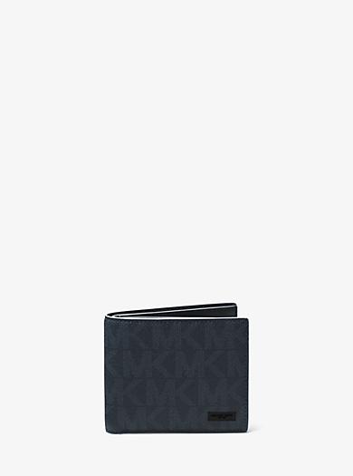 Portafoglio a libro Jet Set con logo by Michael Kors