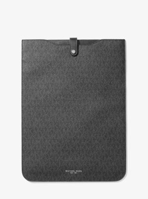 마이클 코어스 맨 로고 15인치 랩탑 파우치 Michael Kors Mens Logo 15 Laptop Pouch,BLACK