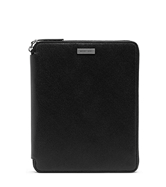 Jet Set Zip-Around Saffiano Leather Tablet Case