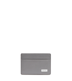 Jet Set Men's Leather Card Case