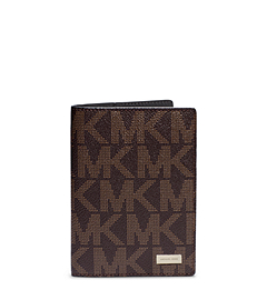 Jet Set Men's Logo Passport Wallet